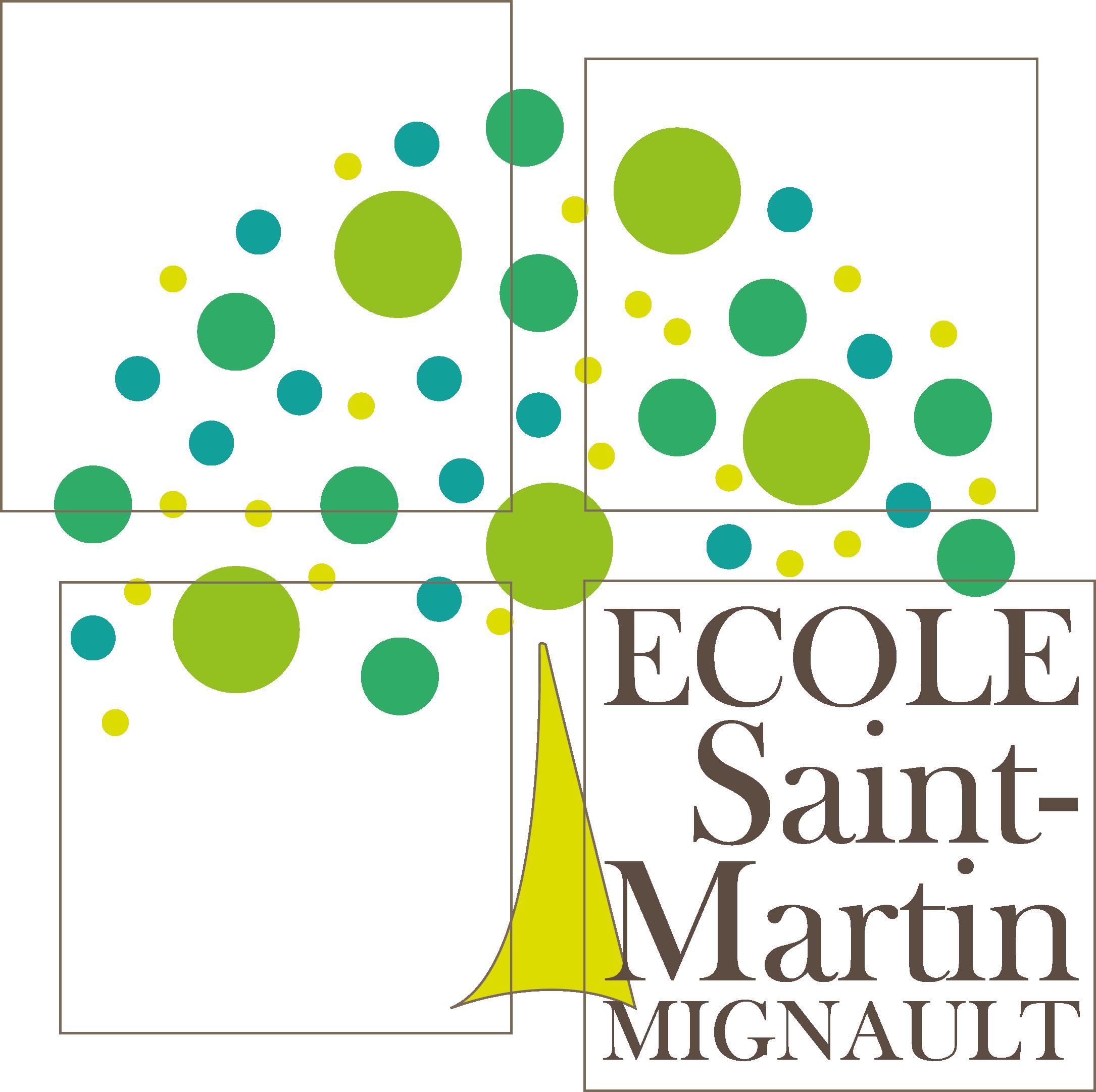 Ecole Saint-Martin Mignault Logo